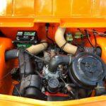 Mehari orange 4 pers '79