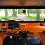 Mehari orange 4 pers. '80
