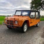 Mehari orange 4 pers '74