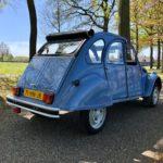 2cv6 special Bleu celeste '90 1e eig. 22.700 km origineel