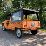 Mehari orange '74 4 pers. 24.918 km