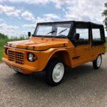 Mehari orange 4 pers. 60.980 km 10-1985