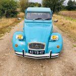 2cv6 Bleu petrel '75