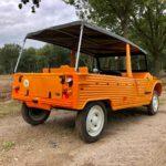Mehari orange 4 pers. '78