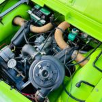 Mehari vert tibesti 4 pers. 17.200 km origineel